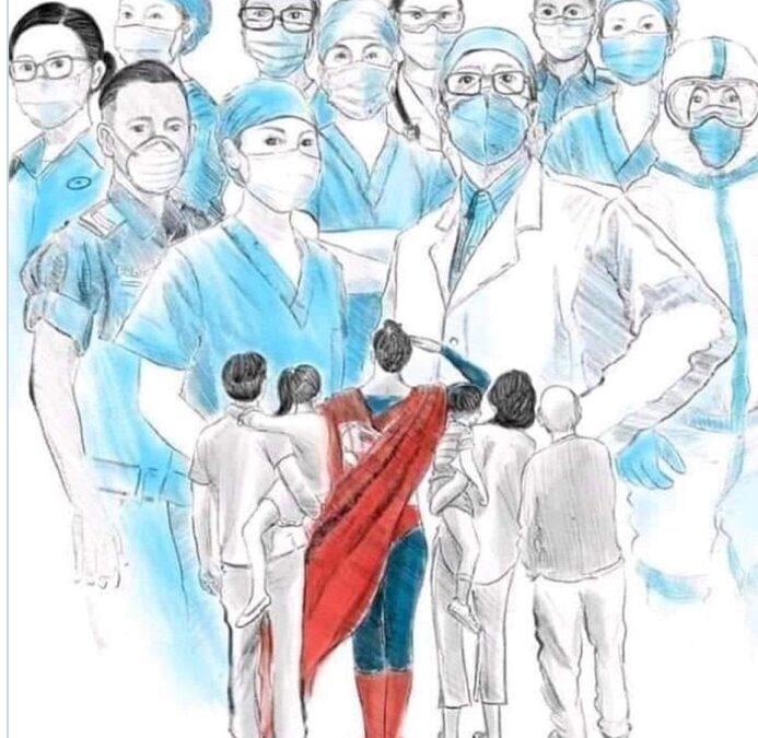 Los sanitarios, esos héroes que cuando llegan a casa…